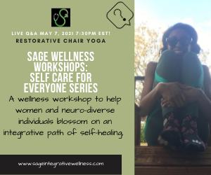 Self Care For Everyone Series: Live Q&A Restorative Chair Yoga